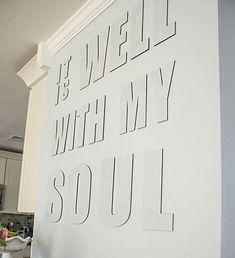 Ideas de decoración Letras 3D para el interior de tu vivienda.