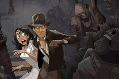 Check out this Indiana Jones cartoon! It still might happen. Click to watch the video and see more pics.