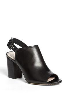 Vince Camuto 'Brianny' Slingback Peep Toe Leather Sandal   Nordstrom
