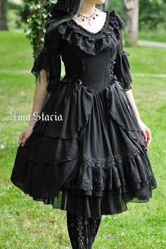 --> #LolitaUpdate: AmaStacia [--The Song in the Forest--] OP 2nd Round Pre-order --> [-!!!-Very Limited Quantity-!!!-] --> Learn More: http://www.my-lolita-dress.com/amastacia-the-song-in-the-forest-elegant-lolita-op-dress-with-front-open-design