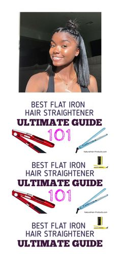 How You Best Straighten Your Hair With a Flat Iron If you're wondering how do you straighten your hair with a flat iron properly and to get the best professional results, I have your detail answer right here.  Let's get into it:  Here are the 7 steps to follow so that you know how to get the best straightening press on your hair with a high-quality flat iron.  1. Deep condition your hair before flat ironing Natural Hair Types, Natural Hair Braids, Natural Hair Care Tips, Curly Hair Tips, Hair Straightener Reviews, Mason Pearson Brush, Flat Iron Tips, Hair Straightening Iron, Best Flats