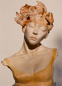 "Saatchi Art Artist jannine wilensky; Sculpture, ""Bliss"" #art"