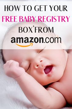 Amazon Baby Registry Welcome Box is a fantastic way of getting some fantastic samples of your favorite baby products. If you are a new mom its a great way of finding new products. Find out how you can get a Amazon Baby Registry welcome box here #amazonbabyregistry