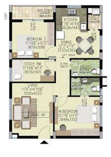 House Plan for 32 Feet by 40 Feet plot (Plot Size 142 ...