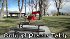 Only a Picnic Table - Simple Object Parkour Training