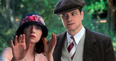 Magic in the Moonlight; Poster: Emma Stone & Colin Firth in the ...