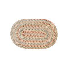 Colonial Mills Coral Gables Braided Reversible Rug, Beig/Green (Beig/Khaki)