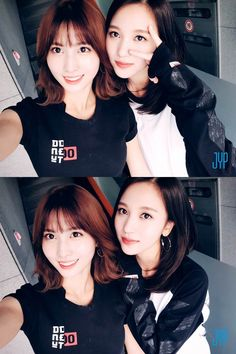 Momo and Mina (◕‿◕✿) Kpop Girl Groups, Kpop Girls, I Fancy You, Sana Momo, Twice Dahyun, Twice Kpop, Im Nayeon, Hirai Momo, One In A Million