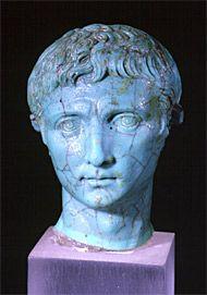 Bildnis des Kaisers Augustus, 2. bis 3. Jahrzehnt des 1. Jh.n.Chr., vermutlich Italien