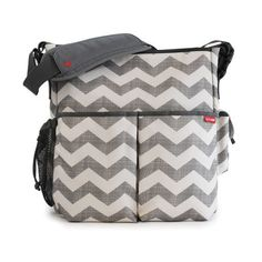 Chevron Duo Essential Diaper Bag. (Stay tuned -- this much-loved bag will be back in stock this week!)