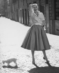 Actress and Style Icon Anita Ekberg Dies at 83: See Her Most Glamorous Looks - Striking a Pose in Rome  - from InStyle.com