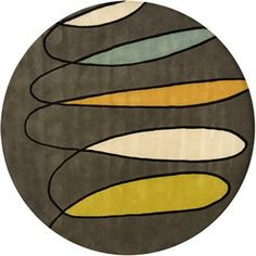 Decorate your room with the unique Bense Contemporary Round Rug to liven the space up. This modernly designed rug is hand-tufted from New Zealand Wool,making it a finely textured mat. This floor accessory also comes in different shades to choose from.