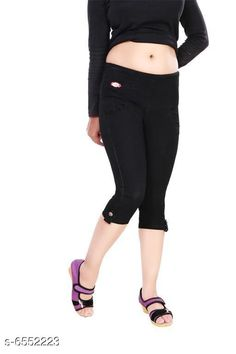 Capris Stylish Women Stretchable Denim Capries  Fabric: Stretchable Denim Pattern: Solid Multipack: 1 Sizes: 34 (Waist Size: 34 in Length Size: Up to 27 in) 36 (Waist Size: 36 in Length Size: Up to 27 in) 38 (Waist Size: 38 in Length Size: Up to 27 in) 28 (Waist Size: 28 in Length Size:Up to 27 in) 40 (Waist Size: 40 in Length Size:Up to 27 in) 30 (Waist Size: 30 in Length Size: Up to 27 in) 32 (Waist Size: 32 in Length Size: Up to 27 in) Country of Origin: India Sizes Available: 28, 30, 32, 34, 36, 38, 40   Catalog Rating: ★4.2 (395)  Catalog Name: Free Mask Classy Sensational Women Capris CatalogID_1043823 C79-SC1037 Code: 594-6552223-2031