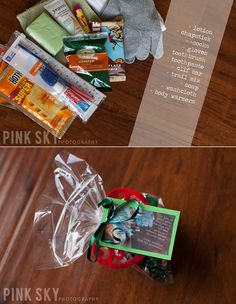 "Blessing Bags: ""In lieu of small gifts this year, a Blessing Bag has been given to a homeless person in your honor"""