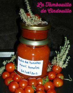 Realiser Des Conserves Sans Sterilisateur Coulis De Tomates Et