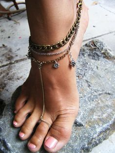 Anklet Toe Ring every hippie must have!!!