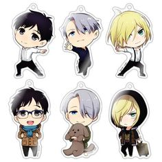 Crunchyroll - Yuri On Ice Chara Forme Acrylic Strap Collection - Yuri!!! On Ice!