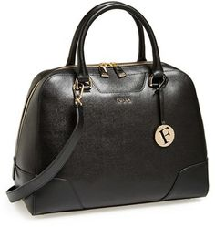 Furla 'Dolly - Medium' Saffiano Leather Satchel