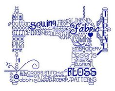 instead of FLOSS, SARAH; instead of CROSS STITCH, COVER STITCH :) so excited for my mom to make this!