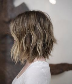 Textured bob by KC Carhart