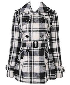 Plaid pea coat= Too cute | Fashion I love | Pinterest | Coats ...