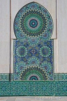 Moroccan design - I like the colors