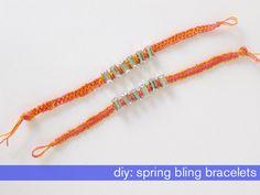 DIY: Spring Bling Bracelets | The Average Girl's Guide