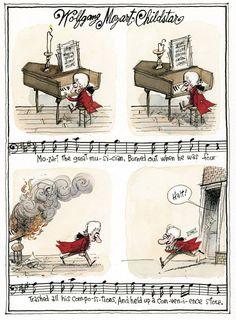 Wolfgang Mozart - Childstar by Richard Thompson