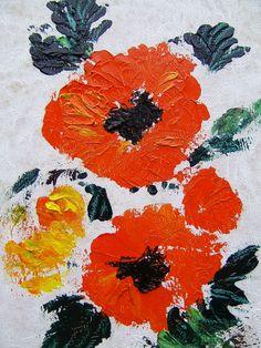 TABLEAU PEINTURE A L'HUILE AU COUTEAU COTATION DROUOT : Peintures par la-galerie-de-lodya