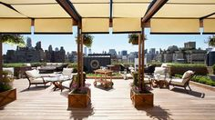 The Surrey Hotel Adds Exclusive Roof Top Garden after Renovation