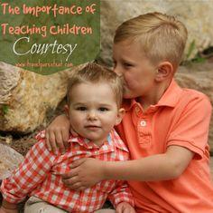 teach children courtesy