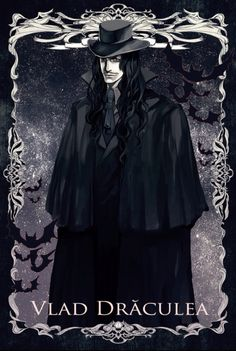"arikatu-chan: """"He walked the streets of Romania, looking for a Bride. He had been alone for years, watching happy couples be free, full of life, and full of love. He looks along the streets when he. 5 Anime, Anime Art, Castlevania Anime, Dark Romance, Hellsing Alucard, Vlad The Impaler, Bram Stoker's Dracula, Vampire Art, Gothic Horror"