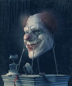 Are you afraid of clowns?By:25kartinokSure The Hell Am!