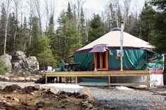 MOTHER EARTH NEWS reader Craig Boyer realized his dream and saved money by building a yurt in upstate New York with the help of friends and neighbors. Read about how Boyer turned his homesteading dreams into reality, now living in a yurt year-round.