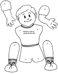 partes del cuerpo para niños - Buscar con Google