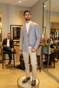 Guapos en la oficina- Saks Fifth Avenue educó a los caballeros en el nuevo código de vestimenta para el trabajo