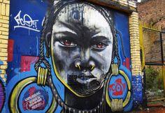 Street art in Bogota Colombia