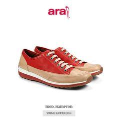 Conoce la colección de Ara para mujer con sus tallas desde la 35 hasta la 44. Disponible en a mida zapatería Castellón