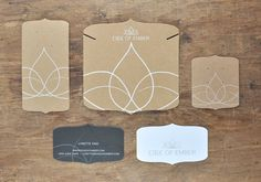 Edge of Ember Branding by Chavelli Tsui, via Behance