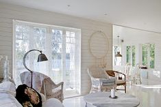 Cottage of the Week: By the Lake - Home Bunch - An Interior Design . Home Design Decor, House Design, Luxury Interior Design, Interior Decorating, Love Home, White Houses, Home Fashion, Luxury Homes, Sweet Home
