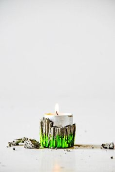 DIY home crafts DIY Concrete Party Candle Holder DIY home crafts