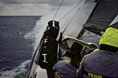 Team Brunel - In the volvo ocean race - News View
