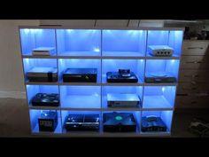 Retro game consoles Cabinet - retro gaming - gamecube n64 nes megadrive xbox…
