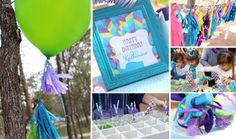 peacock party ideas | Proud as a Peacock Guest Dessert Feature « SWEET DESIGNS – AMY ...