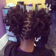 #longlivelocs #locs #locenvy #locsilove #locstyles #womenwithlocs #coloredlocs #locswithcolor #mermaidlocs #womenlocstyles #locpetals #locpetalpuffs Short Locs Hairstyles, Pretty Hairstyles, Beautiful Dreadlocks, Dreads Styles, Jackson, Hair Locks, Hair Journey, Love Hair, Hair Inspiration