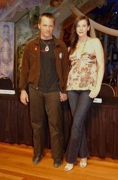 Viggo Mortensen with co-star Liv Tyler