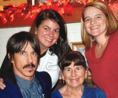 Anthony Kiedis' mother and half-sisters
