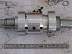 Completed prototype diff on top of my state of the art drawings!