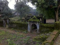 "Typical ""Secret Garden"" scene at the Tombs (and the Citadel) in Hue, Vietnam.  Taken at Tu Duc Tomb."
