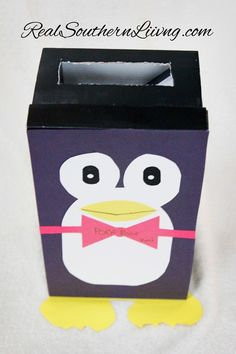 Penguin Valentine Mailbox | Real Southern Living